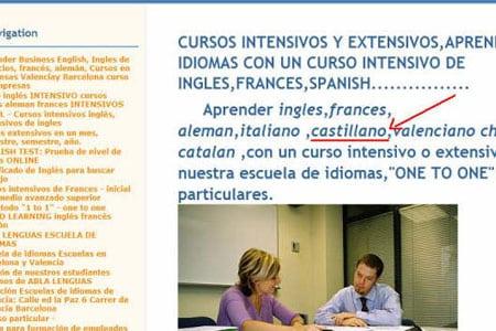 wtf academia idiomas castillano