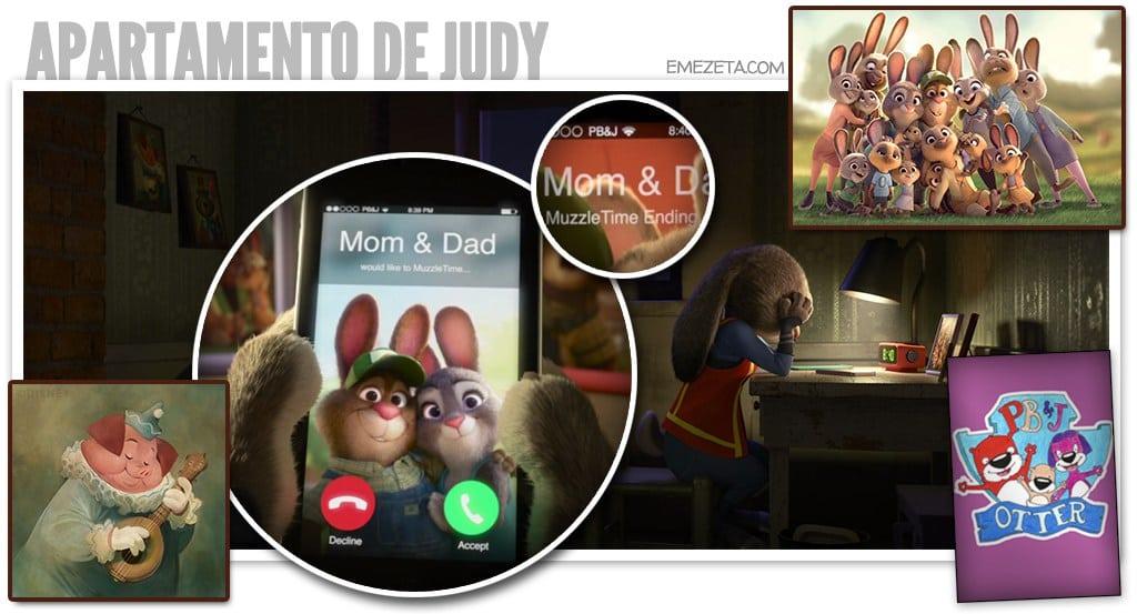 El apartamento de Judy