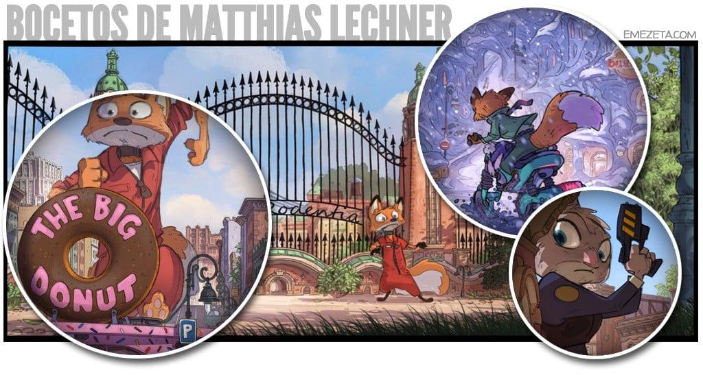 Bocetos de Matthias Lechner