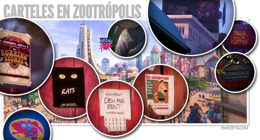 Carteles de Zootrópolis