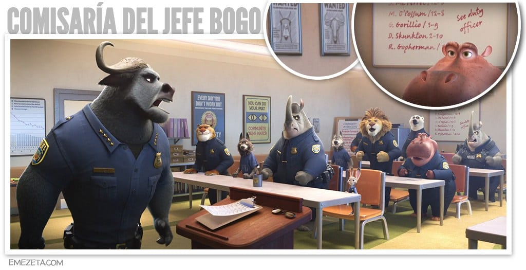 Comisaría del jefe Bogo