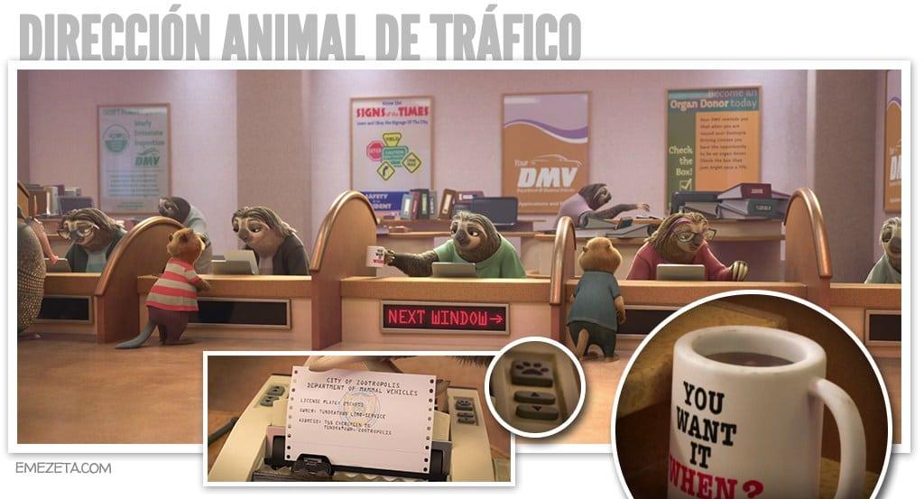 Zootr polis 42 curiosidades que quiz s no viste emezeta com - Direccion de trafico en malaga ...