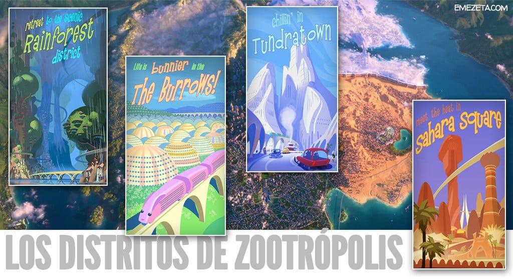 Distritos de Zootopía