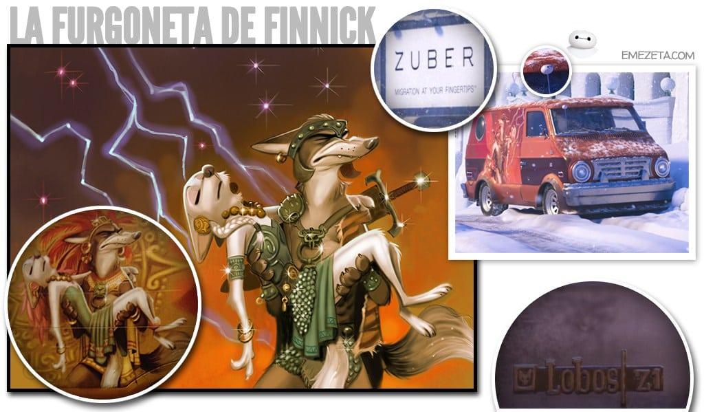 La furgoneta de Finnick