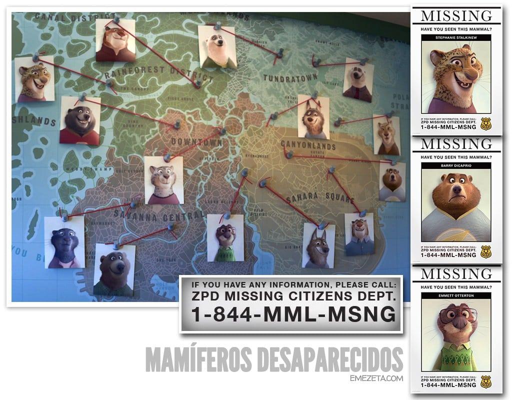 Mamíferos desaparecidos