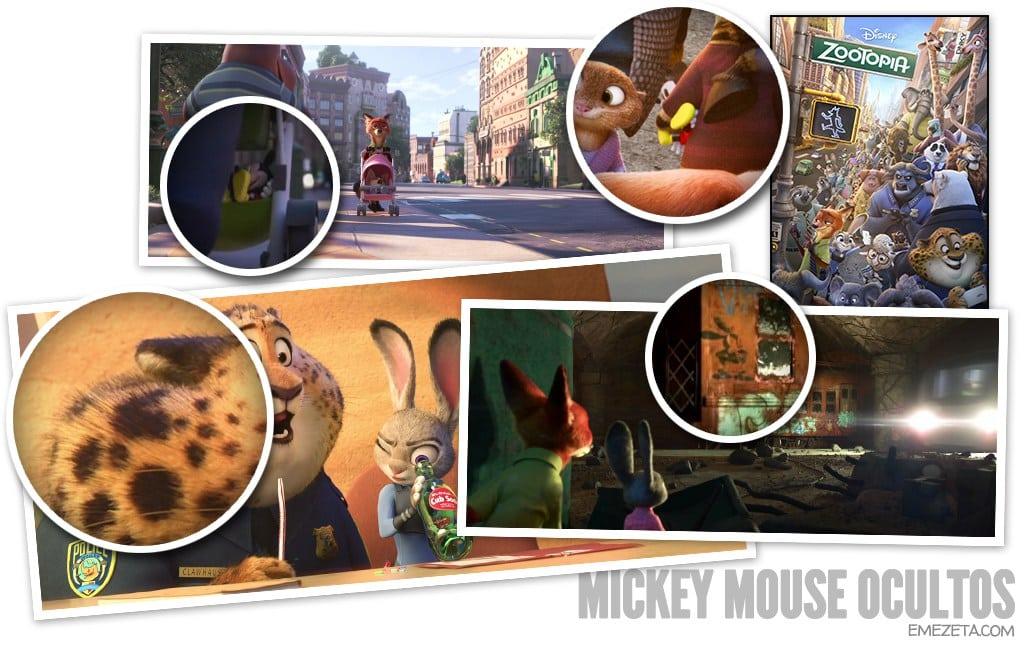 Mickey Mouse ocultos
